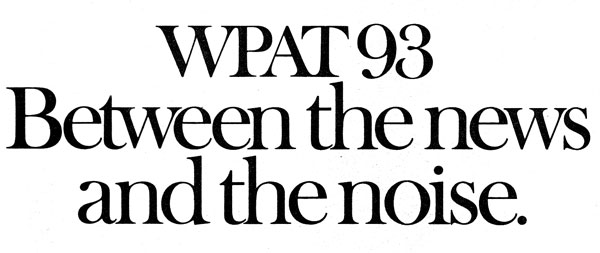 wpat 93 logo and slogan