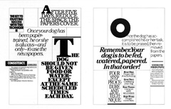 newsletter dog training tabloid